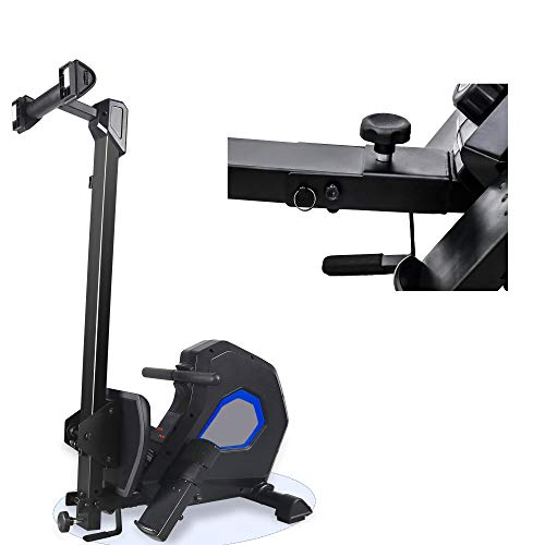YUN JIN Water Rowing Machine Rower,Compact Folding Rower with 8 Resistance,Workout Exercise Bike for Home Cardio Workout for Men,Women,Seniors,Max Capacity 264 lbs