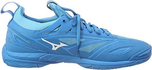 Mizuno Herren Shoe Waver Mirage Sneakers, Blau (Bjewel/Wht/Hocean 001), 46.5 EU
