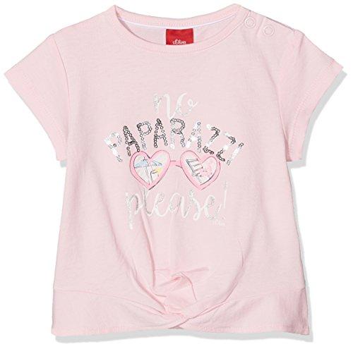 s.Oliver s.Oliver Baby-Mädchen 65.805.32.5102 T-Shirt, Pink (Light Pink 4103), 68