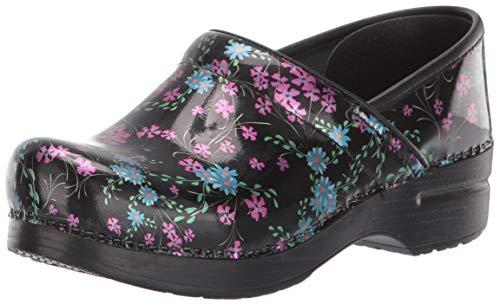 Dansko Women's Professional Mini Floral Clog 11.5-12 M US