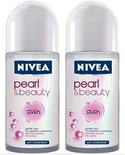 Nivea Roll On Pearl & Beauty 50 ml - 2 pk