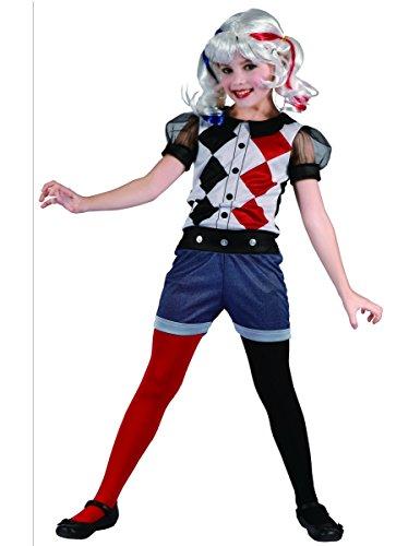 Generique - Kostüm Harlekin für Mädchen! 134/140 (10-12 Jahre)