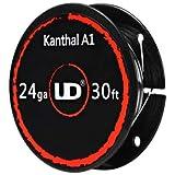 UD Youde Bobina di 10 m di filo Kanthal A1, 24 AWG, 0,50 mm