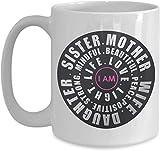 Keyboard cover Idea regalo ispirata per la loro tazza da caffè positiva per le donne, per sorelle e mamme
