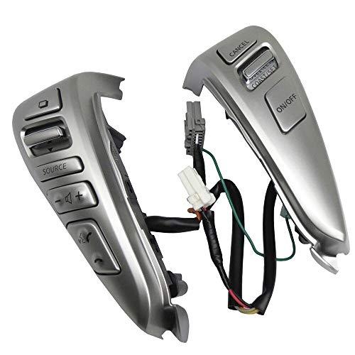 ZhengELE Manejo de la Rueda Control de Velocidad Bluetooth Interruptores for Nissan Tiida Livina Sentra Sunny Almera
