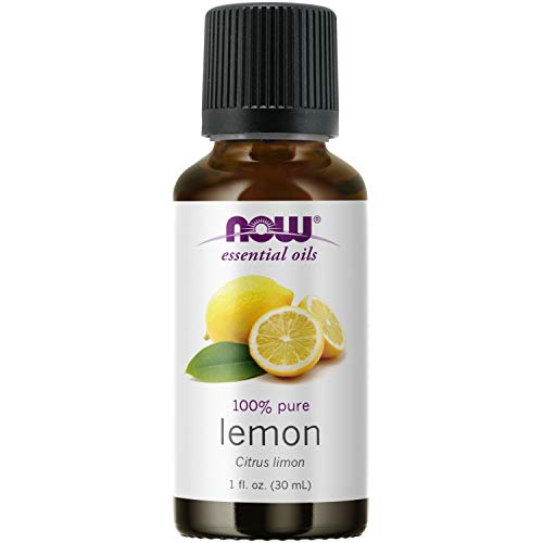 NOW Essential Oils, Lemon Oil, Cheerful Aromatherapy Scent, Cold Pressed,...