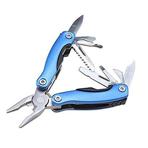 SODIAL(R) Acier inoxydable Portable Multi-Pinces Multi Purpose survie Outil multi-fonctions Couteau pliant exterieure(pas de lampe)