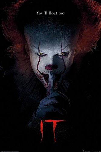 Close Up Stephen Kings Es Poster Pennywise Hush (61cm x 91,5cm)