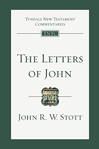 Image of The Letters of John (Tyndale New Testament Commentaries (IVP Numbered))