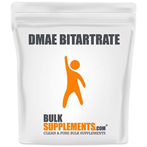 BulkSupplements.com DMAE-Bitartrate Powder - Brain Support Supplements - Mental Focus Supplement (100 Grams)