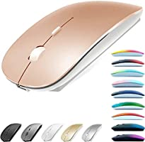Rechargeable Bluetooth Mouse for MacBook pro/MacBook air/Laptop/iMac/ipad, Wireless Mouse for MacBook pro MacBook...