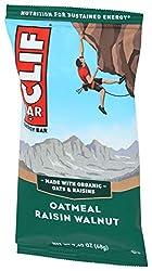 CLIF BAR - Energy Bars - Oatmeal Raisin Walnut - (2.4 Ounce Protein Bar, SINGLE BAR)
