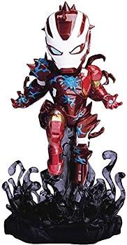 Beast Kingdom Marvel Maximum Venom  Venomized Iron Man MEA-018 Mini Egg Attack Figure Multicolor