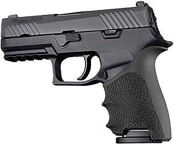 Hogue HO17610 P320 Compact  HandALL Beavertail Grip Sleeve - Black
