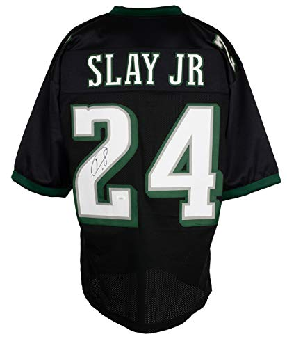 Darius Slay Autographed Signed Custom Black Pro Style Football Jersey JSA ITP