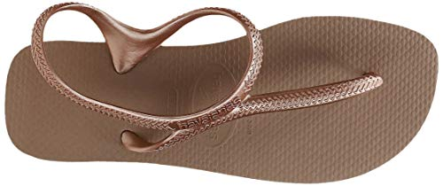 Havaianas Flash Urban, Sandali Bassi Donna, Oro (Rose Gold), 41/42