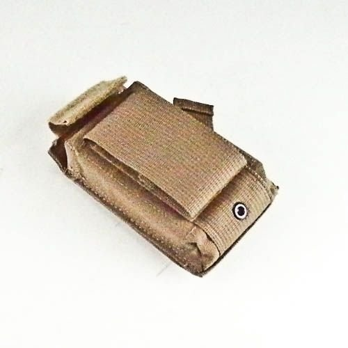 US MIlitary Coyote Tan Single Magazine Speed Reload Pouch Molle Specialty Defense