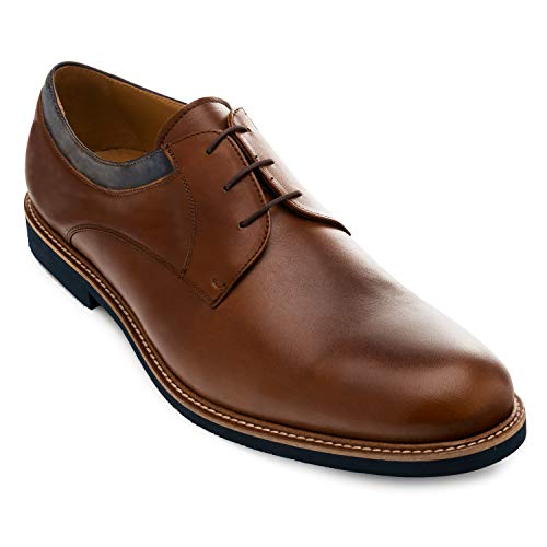 Andres Machado - 5685 - Zapatos Estilo Blucher Hombre. Tallas Grandes 47 a 50. Made in Spain.