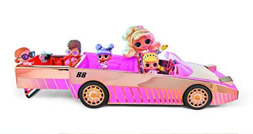 L.O.L. Surprise! 565222E7C Car-Pool Coupe Puppenauto mit Schwarzlichteffekt & Sound, inklusiv Puppe