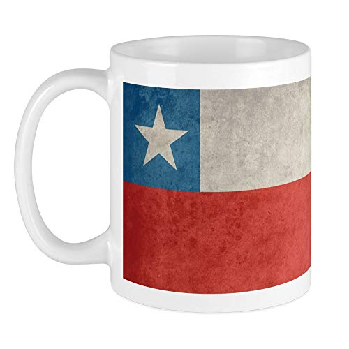 CafePress - Vintage Chile Flagge Tasse - Einzigartige Kaffeetasse, Kaffeetasse, Teetasse
