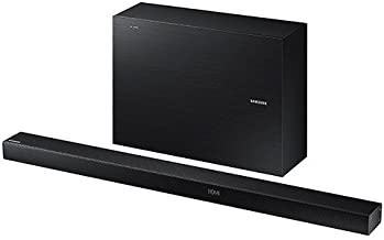 Samsung 2.1 Channel 320 Watts Home Theater Soundbar System With Wireless Active Subwoofer, Bluetooth, 6 DSP Settings, 3D Sound Plus, HDMI, USB Host, Black Finish
