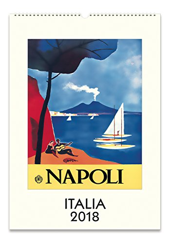 Cavallini Papers & Co. 2018Italia Wandkalender