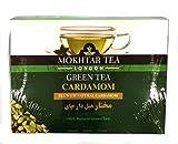 Mokhtar Teebeutel Tee Grüner Tee 100 Teebeutel (Kardamom)