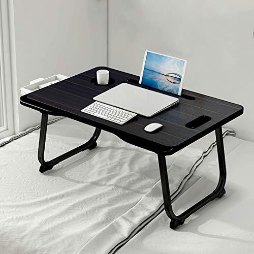 WWDD Notebook Ständer Laptop Kinderbett Tisch Stehpult Frühstückstablett Tisch Tragbar Stehpult Verstellbar für Bett und Sofa Klapptisch Betttablett B