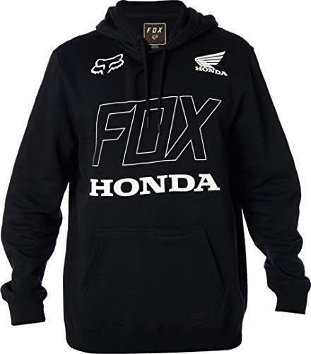 FOX Honda Pullover Fleece Hoodie Schwarz M