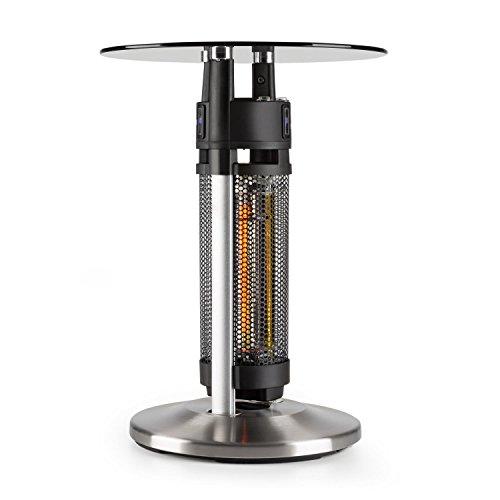 blumfeldt Primal Heat - Mesa de bistró con calefacción, Infrarrojos, Protección IP44,...