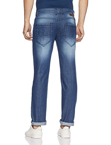 Diverse Men's Straight Fit Relaxed Jeans