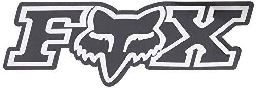 Fox Men's Corporate Aufkleber, 17,8 cm, Chrom, Einheitsgröße