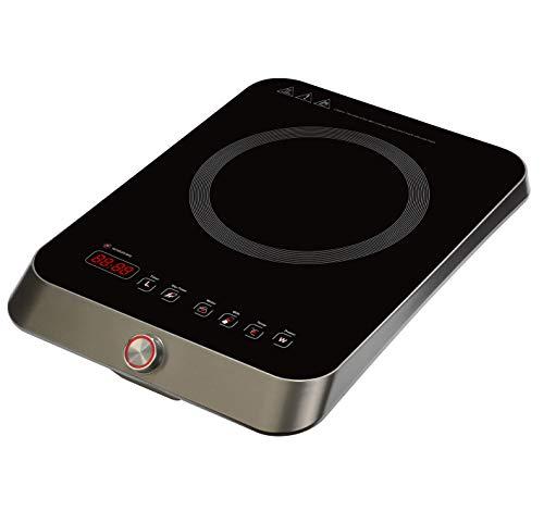 RGV Turbo 2000 Piastra ad induzione, Touch, Grigio Scuro, W
