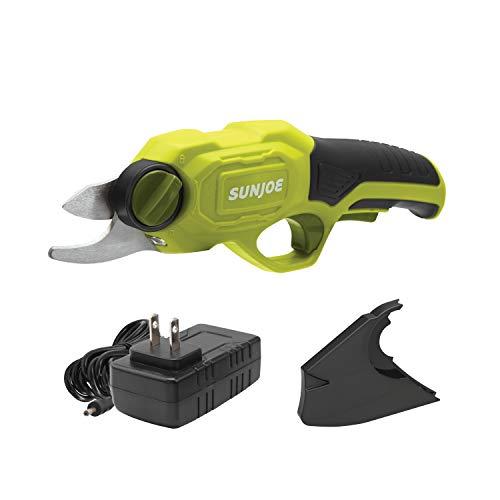 Sun Joe PJ3600C 3.6V 2000 mAh 0.6 Sec Rapid Cutting Cordless Rechargeable Power Pruner, Pack of 1, Green