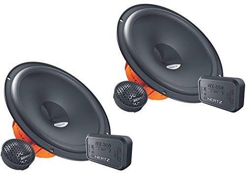Hertz DSK-165.3 - Sistema de altavoces de 2 v­as con 2 woofers para graves de 165 mm y 2 altavoces de agudos (160 W)
