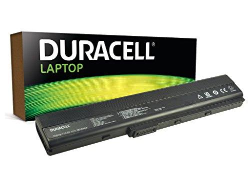 Duracell Original Akku fur Asus A32-K52 - passt A52F | X52F | K52F | A42J | K42J | P42J | K42F Laptops