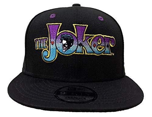 New Era Gorra de Batman The Joker Logo 9Fifty Ajustable...