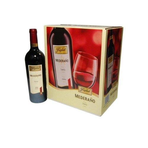 Freixenet Mederaño Tinto Wein, Halbtrocken, 13% Alkohol – Feinster Wein aus Spanien (1 x 0.75 l)