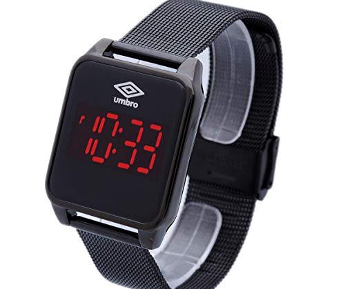 Relógio, Digital, UMBRO, UMB-51-B, adulto-unissex, Preto