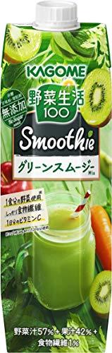 野菜生活100 Smoothie グリーンスムージーMix 1000g×6本 紙パック