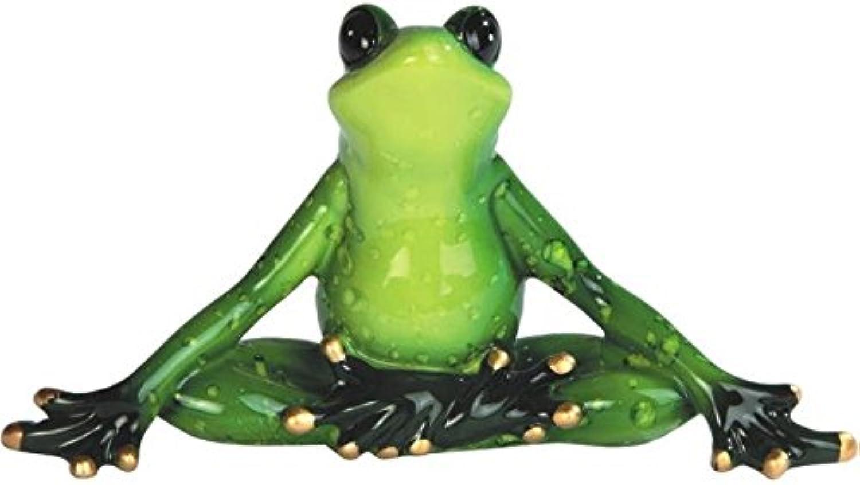 genuina alta calidad StealStreet ss-g-61156verde rana rana rana Yoga Figura decorativa (Juego de 2), 6   Precio al por mayor y calidad confiable.