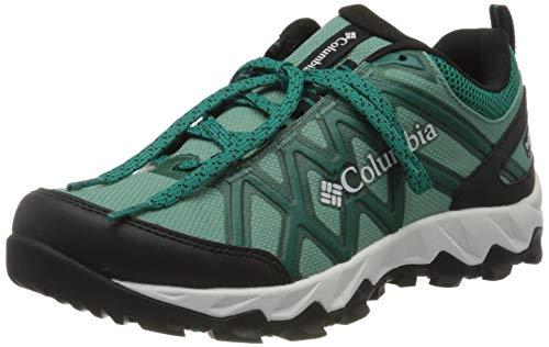 Columbia Peakfreak X2 Outdry, Zapatillas de Senderismo Mujer, Verde (Copper Ore/Glacier Green...