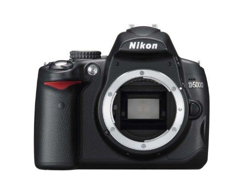 Nikon D5000 SLR-Digitalkamera (12 Megapixel, Live-View, HD-Videofunktion) Gehäuse