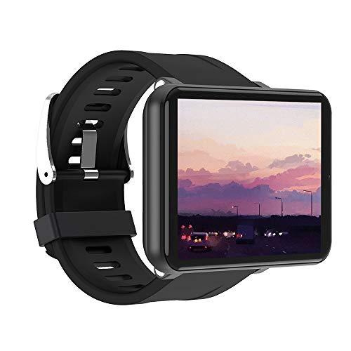 Bestine 4G Smart Watch Uomo Donna, 2700 mAh 2.8 Pollici Full-Touch Screen GPS Sportswatch Cardiofrequenzimetro e Monitor del Sonno Sports Watch con Slot SIM (Black,3+32GB)