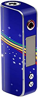 MightySkins Skin Compatible with Sigelei Spark 90W TC – Rainbow Twist | Protective, Durable, and Unique Vinyl Decal wrap Cover | Easy to Apply, Remove, and Change Styles | Made in The USA