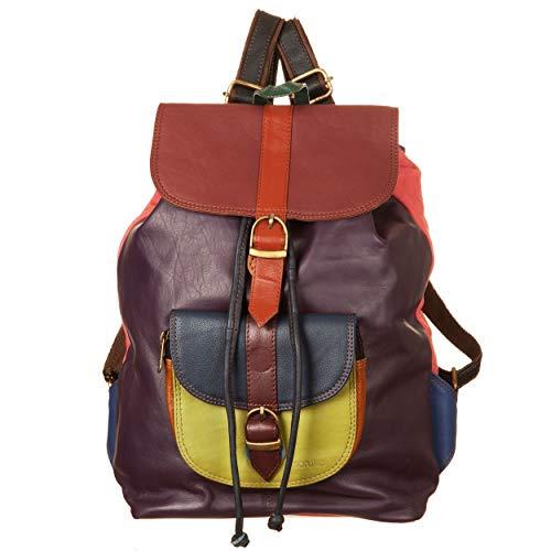 VialeScarpe - Backpack SORUKA SQUAD, Multicolor. Women. Purple and multi.