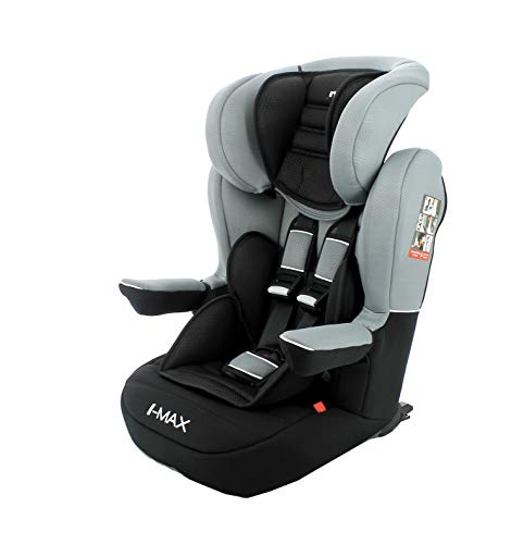 Nania - Sige auto IMAX Isofix - Groupe 1/2/3 (9-36Kg) - Luxe (gris)