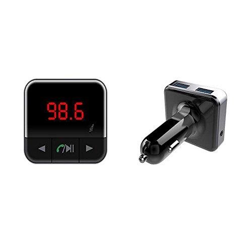 Boomboost Voiture Transmetteur FM Sans Fil V4.1 Bluetooth Mains Libres Kit Soutien Audio Sortie MP3 Lecteur de Musique Double USB De Charge