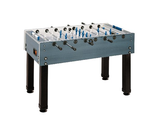 Garlando G-500 Weather Proof Foosball Table, Dark Blue