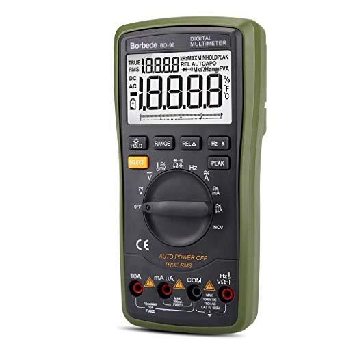 Electrotécnico Digital Multímetro 20000 multímetro Digital automático multipantalla de Alta precisión 4 1/2 AC-DC Instrumento electrónico de Varilla analógica